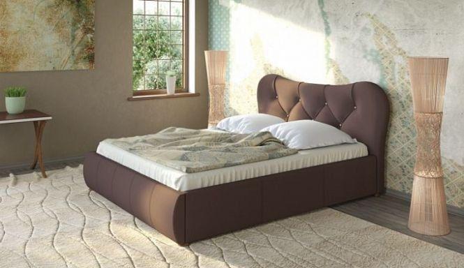 """Кровать """"Лавита"""" шоколад"""