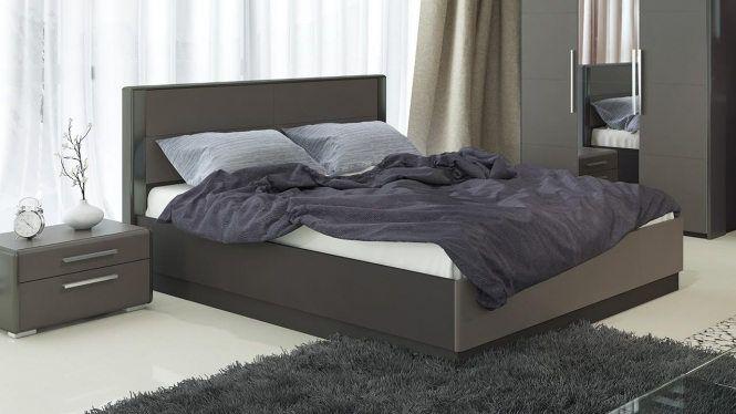 Двуспальная кровать с подъемным механизмом «Наоми» СМ-208.01.02