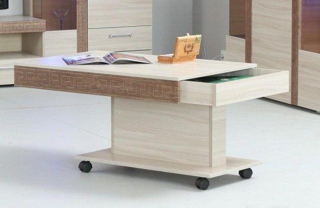 Стол журнальный с ящиком 6-0221