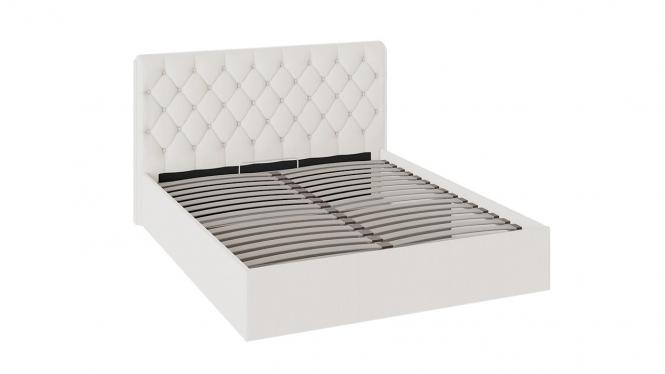 Кровать «Франческа» с мягкой обивкой и подъемным механизмом