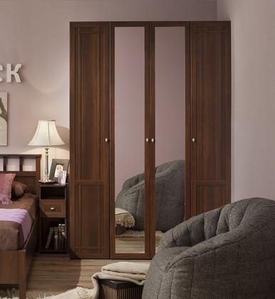 Шкаф для одежды и белья Sherlock 60 орех