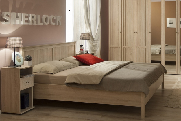 Кровать  Sherlock 43 сонома