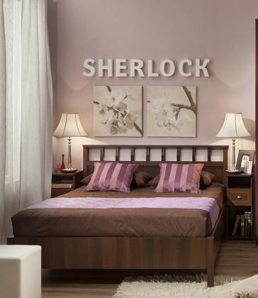 Кровать Sherlock 48 орех