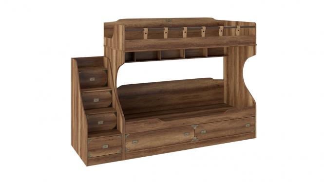 Кровать двухъярусная с приставной лестницей «Навигатор»
