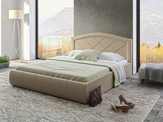 Кровать Виго бежевая