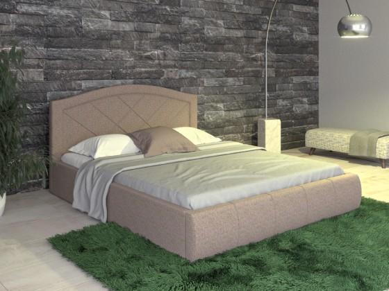 Кровать Виго коричневая