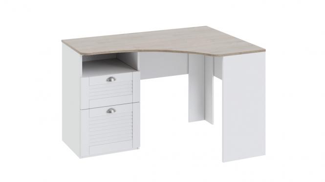 Угловой письменный стол с ящиками «Ривьера»