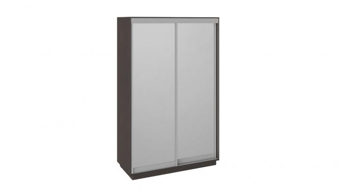 Шкаф-купе 2-х дверный «Румер» Венге, Зеркало/зеркало