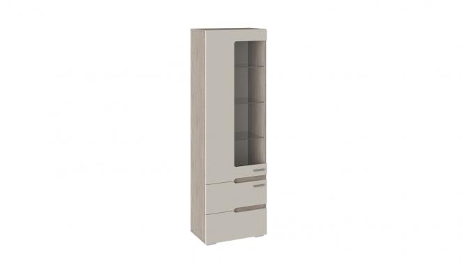 Шкаф для посуды «Фьюжн» Бежевый, Дуб Сонома трюфель