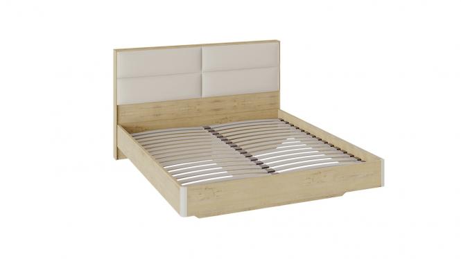 Двуспальная кровать «Николь» с мягким изголовьем
