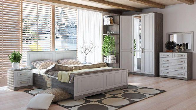 «Прованс» модульная спальня