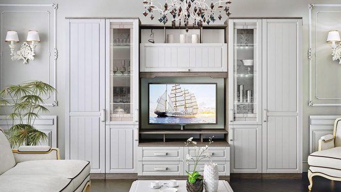 «Прованс» модульная мебель для гостиной