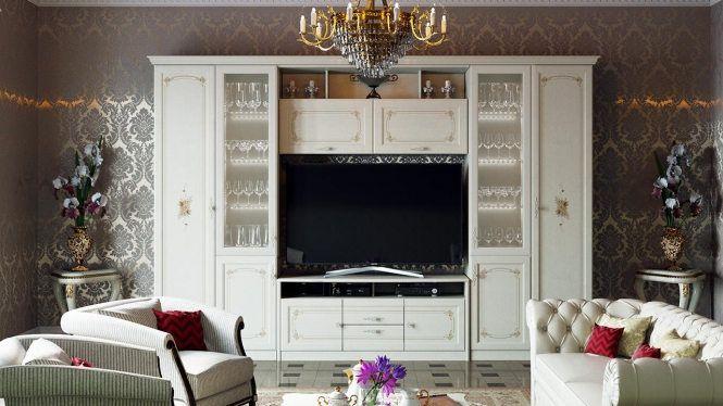 Набор мебели для гостиной «Лючия» №2 ГН-235.202